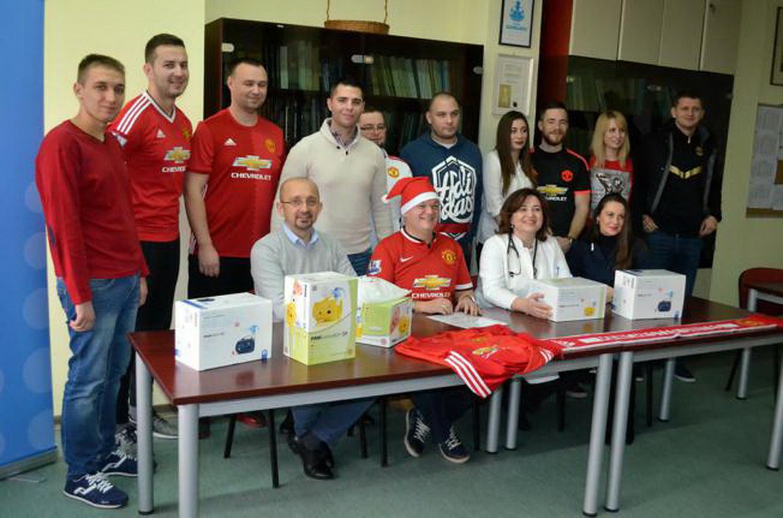 Manchester Donacija