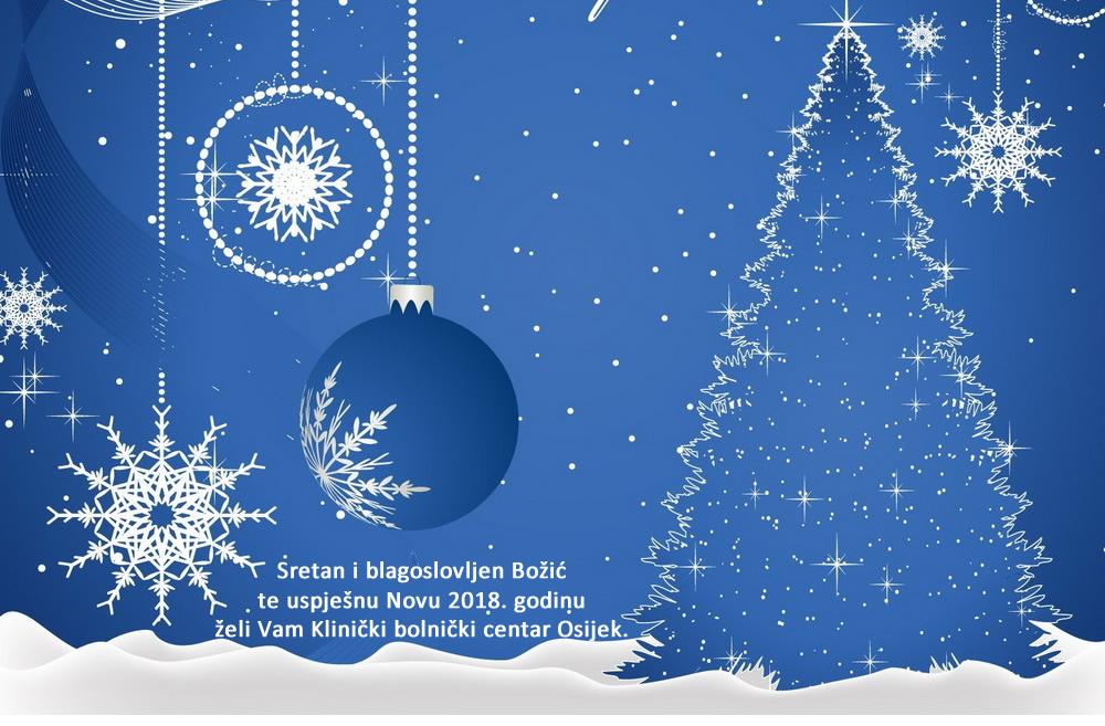 božićna čestitka zaposlenicima Božićna i novogodišnja čestitka Ravnateljstva KBC a Osijek – KBC  božićna čestitka zaposlenicima